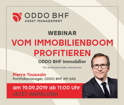 "Webinar ""ODDO BHF Immobilier"""