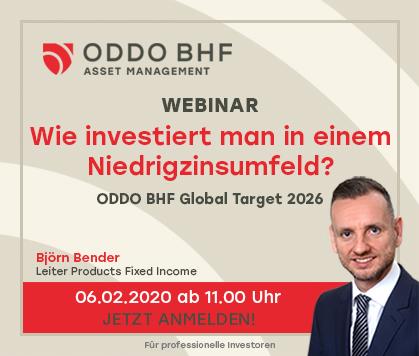 "Webinar ""ODDO BHF Gobal Target 2026"""