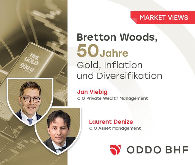 50 ans après Bretton Woods : Or, inflation et diversification