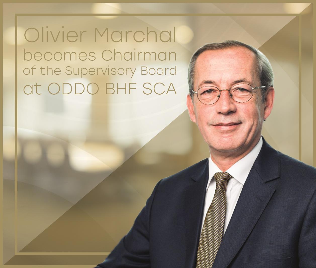 Olivier Marchal devient Président du Conseil de Surveillance de ODDO BHF SCA