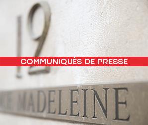 Communiqués de Presse