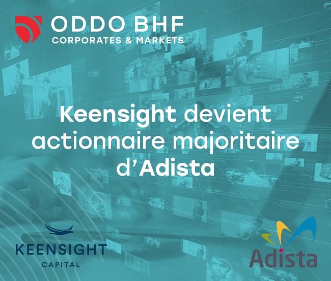 Keensight Capital to take a majority stake in Adista