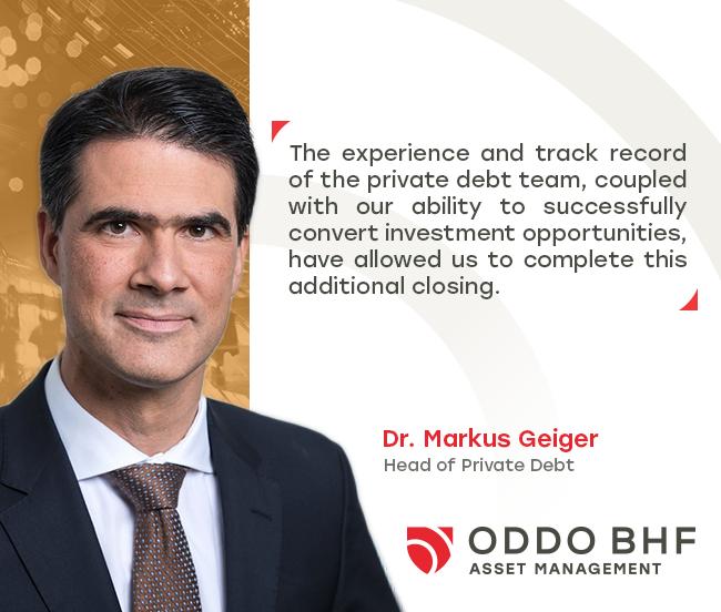 ODDO BHF Private Debt platform completes additional closings