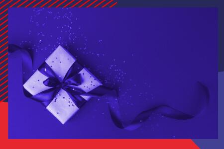 Dans la liste de Noël, le présent d'usage et les donations