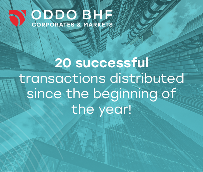20 Equity Capital Market transactions since the beginning of the year 2021