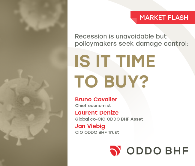 Recession is unavoidable but policymakers seek damage contro: is it time to buy?