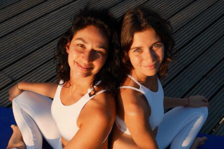 My Ginger, Jennifer et Candice : le yoga comme cure