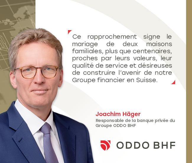 ODDO BHF et Landolt & Cie confirment leur rapprochement