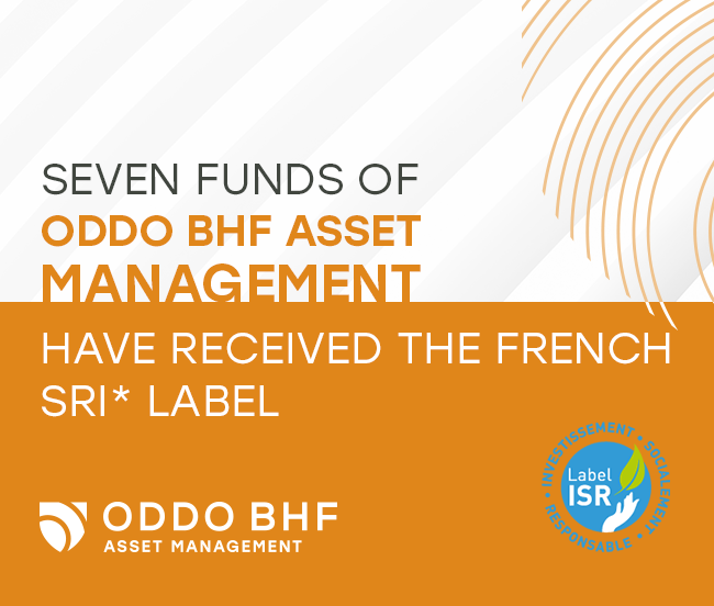 Seven funds of ODDO BHF Asset Management have received the French SRI label