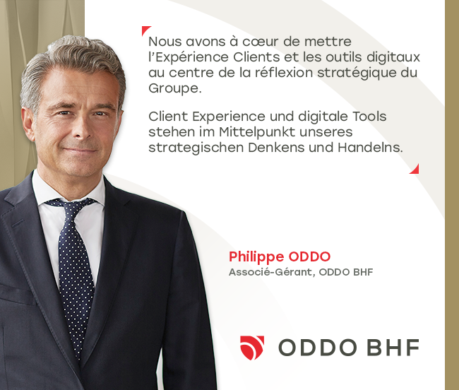 Agathe Schittly est nommée Directrice du Marketing de ODDO BHF et intègre à ce titre le General Management Committee du Groupe