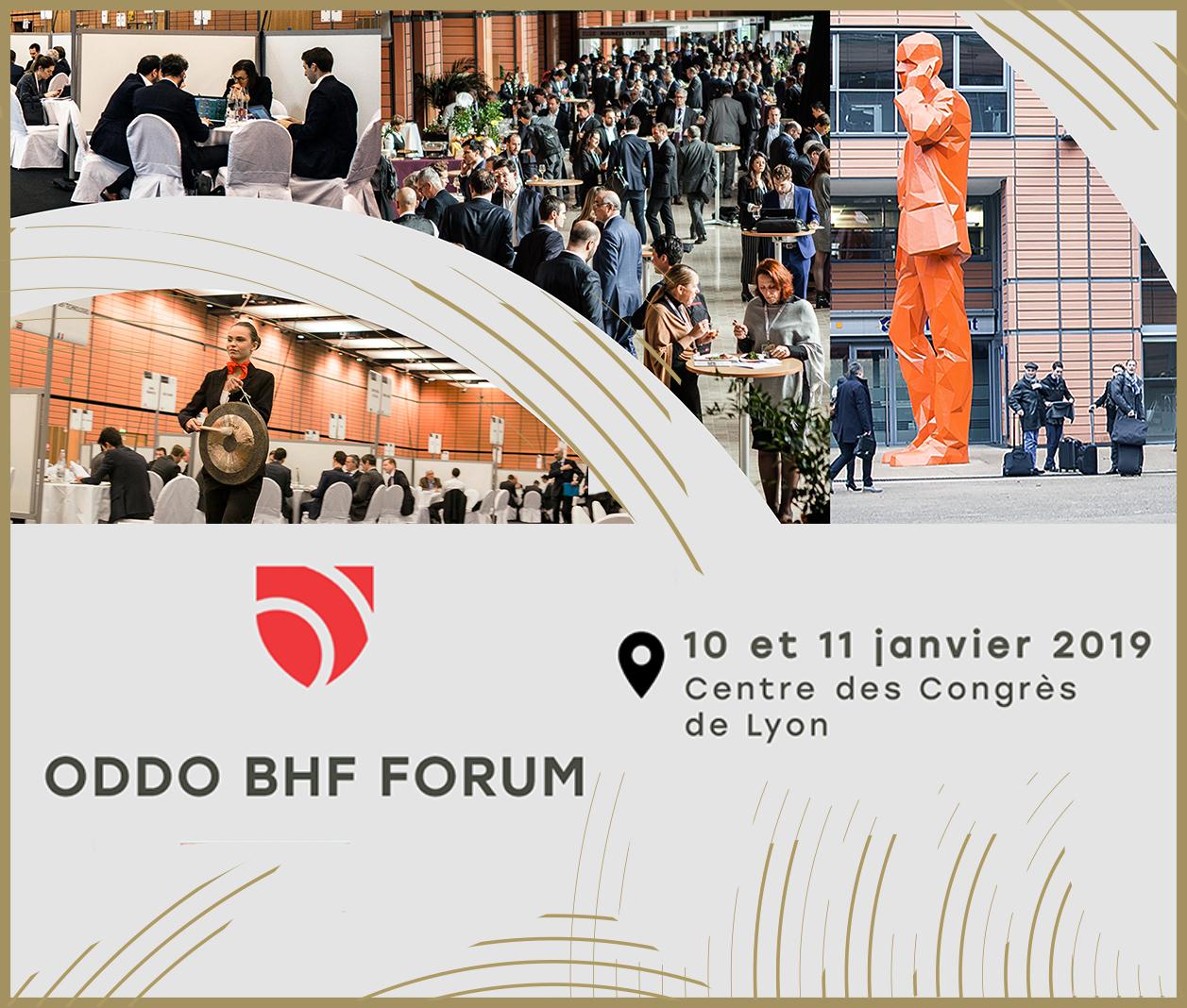 Le ODDO BHF Forum réunit les 10 et 11 janvier 2019 à Lyon 270 sociétés européennes et 560 investisseurs