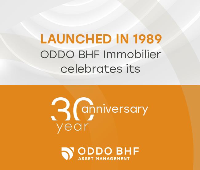 Lancé en 1989, le fonds ODDO BHF Immobilier fête ses 30 ans